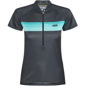 IXS Trail 6.1 Kortærmet cykeltrøje Damer blå/sort